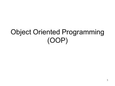 1 Object Oriented Programming (OOP). Exam Friday Paper questions –6 Subroutines BLAT/BLAST Hash Modules Sorting 2.