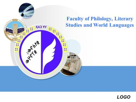 LOGO Faculty of Philology, Literary Studies and World Languages.