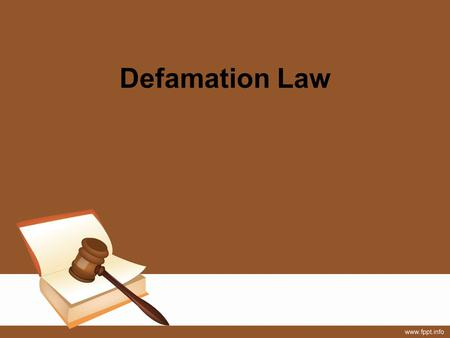 defamation act 2013 Historically, united kingdom defamation law has been victim-favorable in an effort to modernize its defamation law, the uk parliament recently enacted the defamation act 2013 (royal assent.