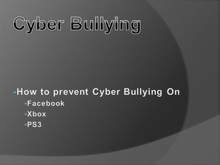 Nearly 42% of kids have been bullied online and almost one in four have had it happen more than once.