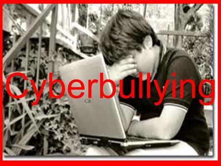 Cyberbullying. Bullying vs. Cyber bullying Bullying is repeated aggressive behavior that is intentional and involves an imbalance of power or strength.