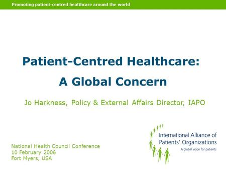 global perspective on health policy Perspectives on global health frenk described the latest communications effort as a bid to improve public health policy by bringing top scientists and societal.