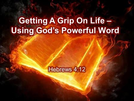 Hebrews 4:12 For the word of God is living and active. Sharper than any double-edged sword, it penetrates even to dividing soul and spirit, joints and.