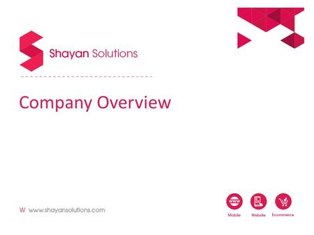 Company Overview. 1.About US 2.Our Work 3.Engagement 4.Our Clients.