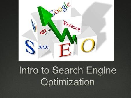 SEO  What is it?  Seo is a collection of techniques targeted towards increasing the presence of a website on a search engine.