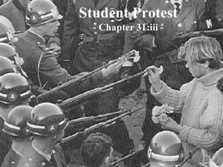 Student Protest - Chapter 31:iii -. In 1971 The New York Times published classified information about America's involvement in the Vietnam War known as.