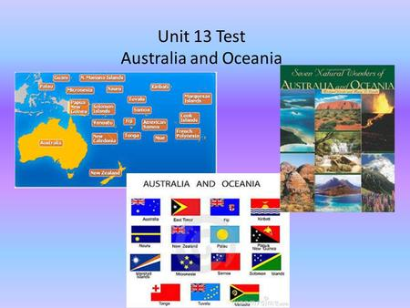 Unit 13 Test Australia and Oceania. What is the theory about how the earliest people arrived in Australia and Oceania? Sailing from Southeast Asia to.