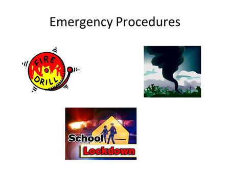 Emergency Procedures. Copyright – Disaster Resistant Communities Group - www.drc-group.com Fire Drill Procedures.