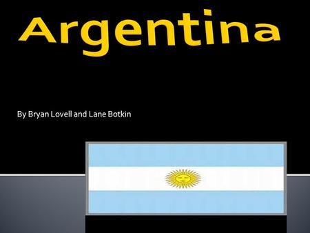 By Bryan Lovell and Lane Botkin. Type of government and employment In Argentina there are many jobs but the most common are teaching,agriculture, health,
