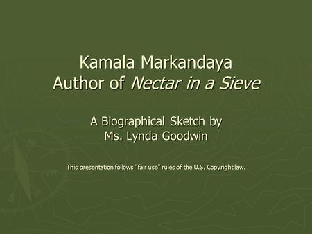 Literary analysis of nectar in a sieve