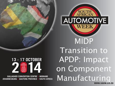 MIDP Transition to APDP: Impact on Component Manufacturing.
