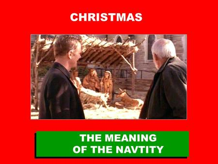 "CHRISTMAS THE MEANING OF THE NAVTITY. HOW TO INSERT VIDEO 1. Select ""Insert"" > ""Movies and Sounds"" > ""Movie from File"" > Navigate to saved clip, select."