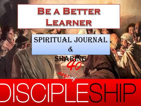 4040 days of Spiritual Journal & Sharing Spiritual Journal & Sharing.