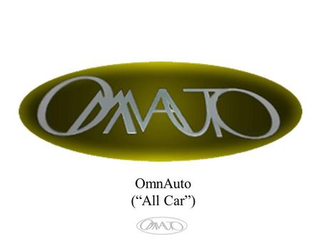 "OmnAuto (""All Car""). October 20, 20032 Members October 20, 20033 OmnAuto 1.Define the Problem 2.US Government Issues 3.Define the Solution 4.Market Identified."