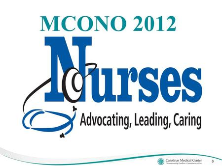 MCONO 2012 0. 1 CONTENT Our Profession Historical Leaders Contemporary Leaders Our Challenge Our Future.
