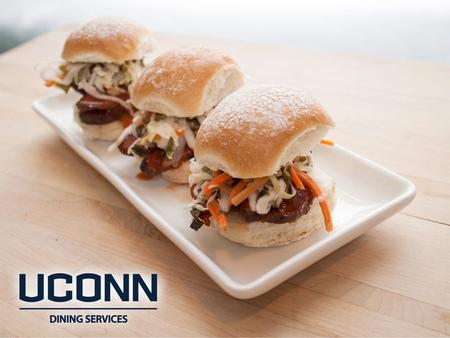 UConn is the second largest self-operated dining program in the U.S. UConn Dining is recognized as the best college food service program to meet the.