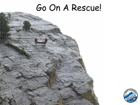 Go On A Rescue!. First, when some one gets hurt, a friend will go to a phone and call 911 - The Emergency Phone Number. The person who answers is called.