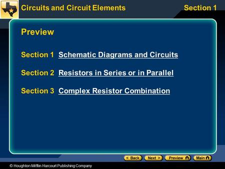 Preview Section 1 Schematic Diagrams and Circuits