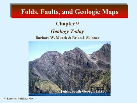 Folds, Faults, and Geologic Maps