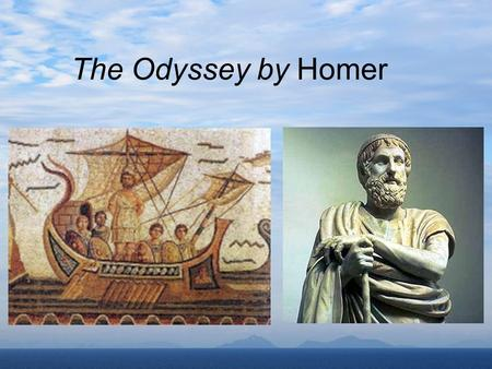 The Odyssey by Homer. The Trojan War As the story begins, the 10-year Trojan War has just ended, and Odysseus is ready to return to his beloved home,