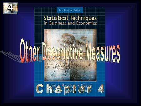 4 - 1 Copyright © 2004 by The McGraw-Hill Companies, Inc. All rights reserved.