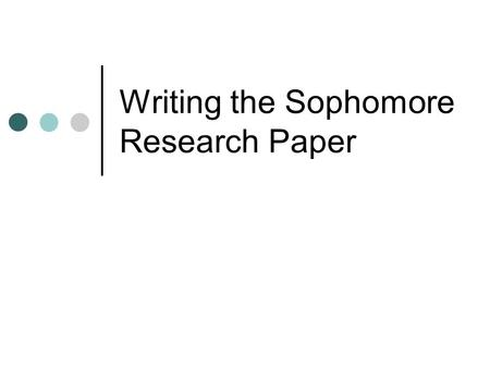 standard margins research paper