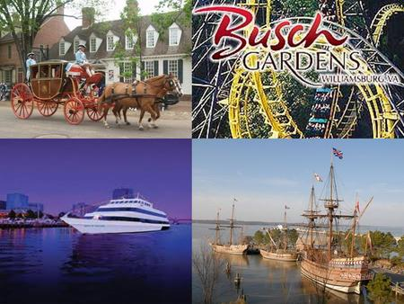 8 th Grade Class Trip Williamsburg, VA June 4 th, 5 th & 6 th 2012 Monday, Tuesday, & Wednesday of the last week of school.