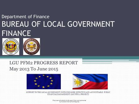Republic of the philippines european union ppt video for Bureau government