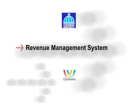 Revenue Management System. Agenda An Overview of  RMS Features  DSW in RMS context.