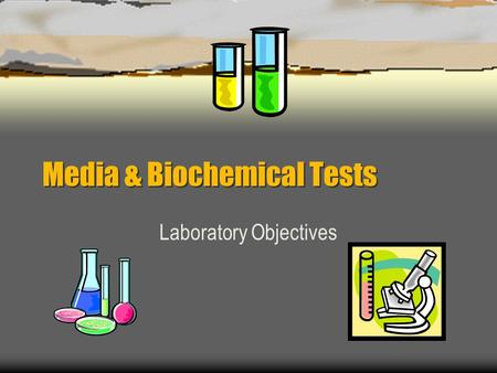 Media & Biochemical Tests