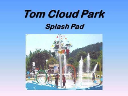 Tom Cloud Park Splash Pad. Splashpad Rendering Tom Cloud Park.