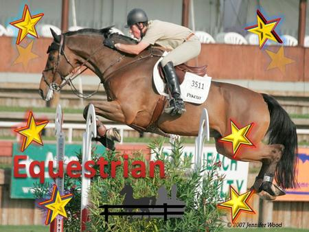 An equestrian is someone who rides horses. Its professionally called equestrianism. Competitive horse riders are the ones we call equestrian but really.