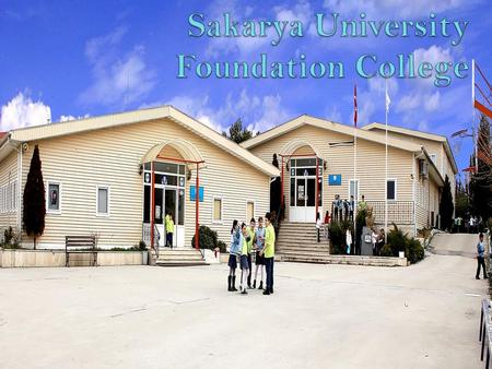 Sakarya University Foundation College was established in 2001. Our school includes pre, primary, secondary and high school. Before lessons we have a reading.
