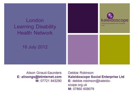 Learning Disability Health Network