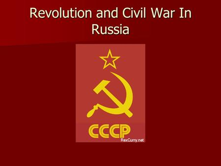 Revolution and Civil War In Russia. Unrest begins Following 1905 revolution Nicholas II failed to solve Basic problems in russia Following 1905 revolution.