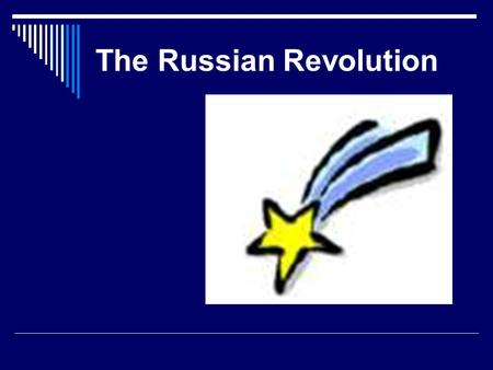 The Russian Revolution. Russia Had Issues With Modernization in the 19 th Century  All industrialized European powers had growing pains, aka ________________,
