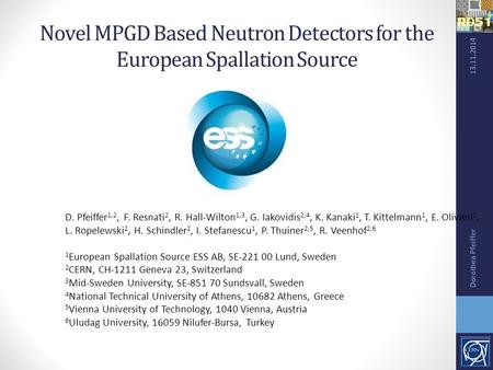 Novel MPGD Based Neutron Detectors for the European Spallation Source