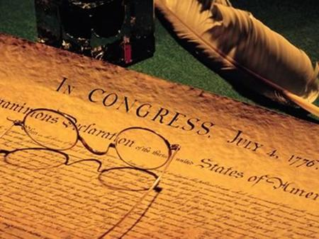 Jefferson wrote the Declaration of Independence as an argument, then he organized the Declaration into four sections: Section 1-Introduction: When In.