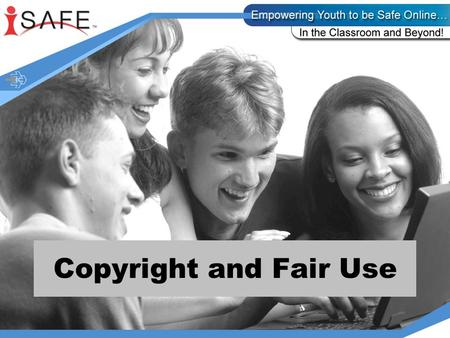 Copyright and Fair Use. Today you will be exercising your knowledge about copyright and fair use. You will be working with scenarios to determine how.