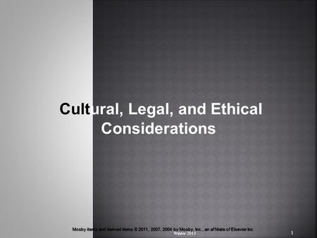 : Ethical, Legal and Regulatory Policy Issues
