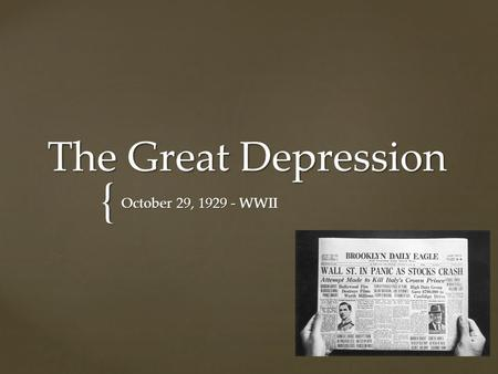 what caused the great depression in 1929 essay