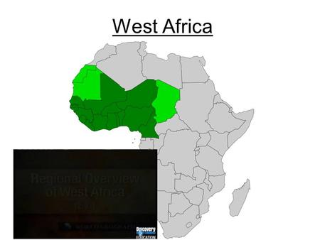West Africa. Subregions Western Sudan – the drier north. Semi- arid Sahel (Cape Verde, The Gambia, Senegal, Mali, Burkina Faso, Niger, Chad) Guinea Coast.