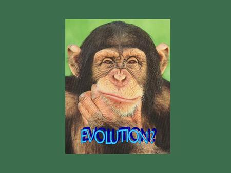 Early ideas about evolution What is evolution? What is evolution? It is the process of biological change by which descendants come to differ from their.