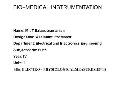Medical Assistant subjects name