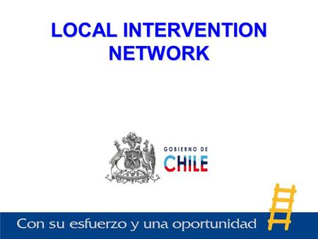 LOCAL INTERVENTION NETWORK. It is the space which brings together all of those public and /or private institutions which work in the interest of the poor.