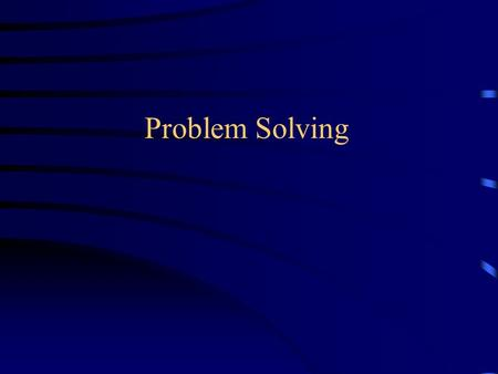 Problem Solving. Reminder: Quantitative Reasoning Amazingly powerful tool to understand the world around us Fundamentals: –Ratios –Graphs –Area &Volume.