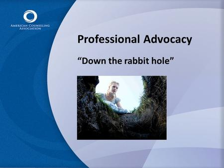 "Professional Advocacy ""Down the rabbit hole"". Contacts to Congress have exploded source: Congressional Management Foundation, 2008."