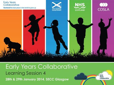 KEY CHANGE WORKSHOP Income Maximisation Early Years Collaborative: Learning Session 4.