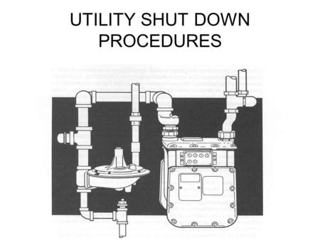 UTILITY SHUT DOWN PROCEDURES. Introduction Review with all crew members proper shut down procedures for Natural Gas and Electrical in emergency situations.