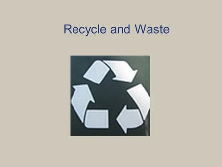 Recycle and Waste Video  kyZbw8waVwk  kyZbw8waVwk.